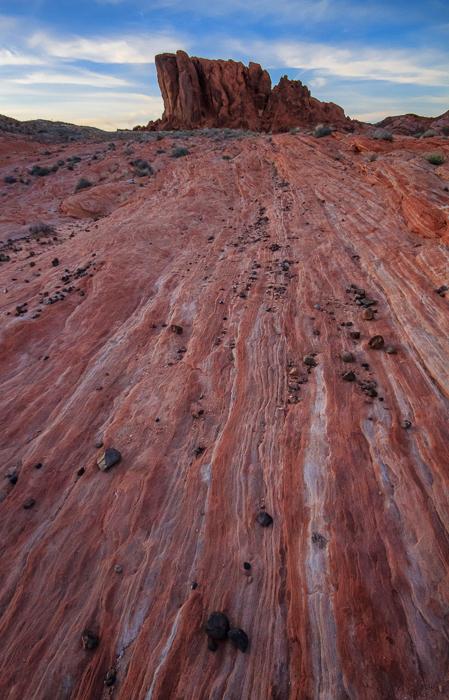 Duck Rock, Valley of Fire, Nevada, by Anne McKinnell