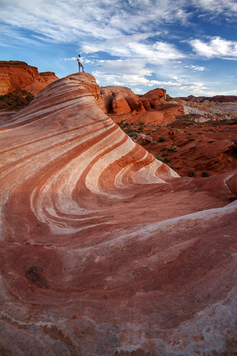 Fire Wave, Valley of Fire, Nevada, by Anne McKinnell