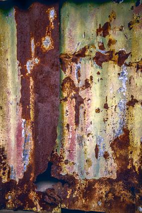 Metal Warehouse by Anne McKinnell