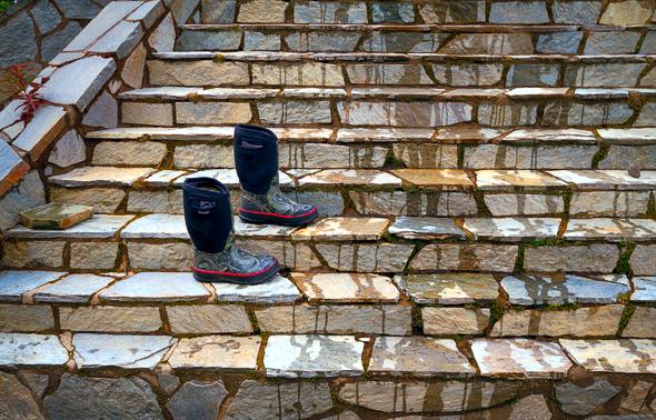 Forgotton Boots by Anne McKinnell