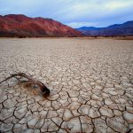 Clark Dry Lake, Borrego Springs, California, by Anne McKinnell