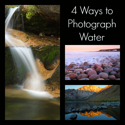 4 Ways to Photograph Water