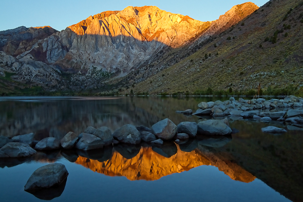 Convict Lake, California, by Anne McKinnell