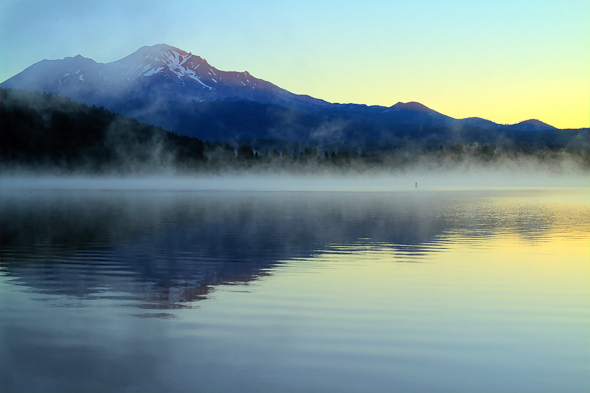 Mount Shasta, California, by Anne McKinnell
