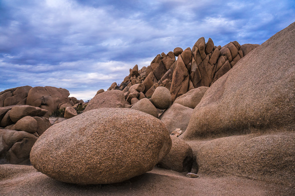 Jumbo Rocks, Joshua Tree National Park, California by Anne McKinnell