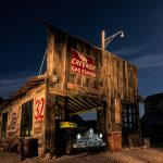 Light Painting  a Ghost Town