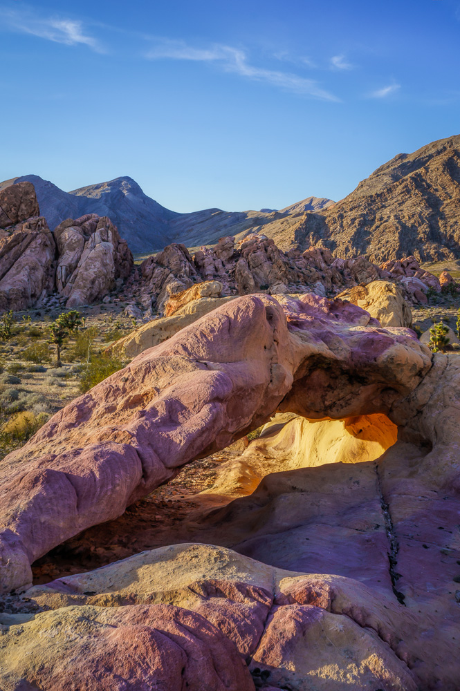 Arch at Whitney Pocket, Nevada, by Anne McKinnell