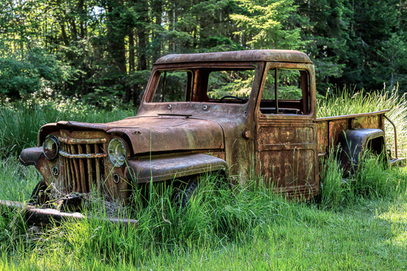 Old Truck at Wallace Island Marine Park