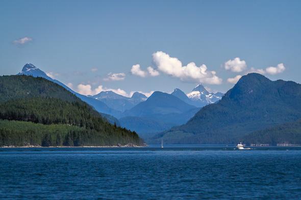 Johnstone Strait by Anne McKinnell