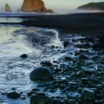 Haystack Rock by Anne McKinnell