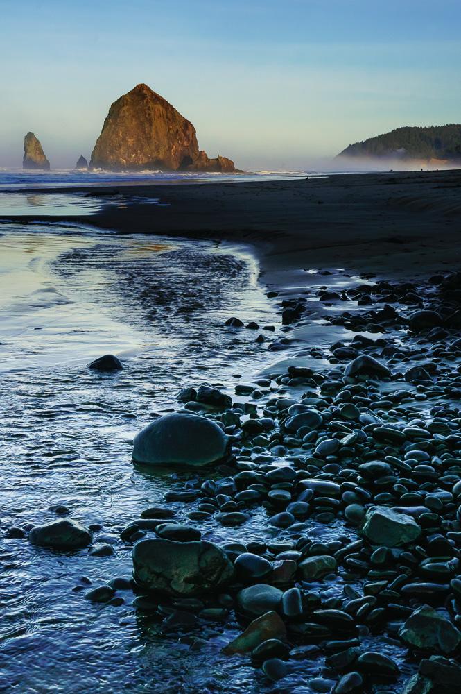 Haystack Rock by Anne McKinnell