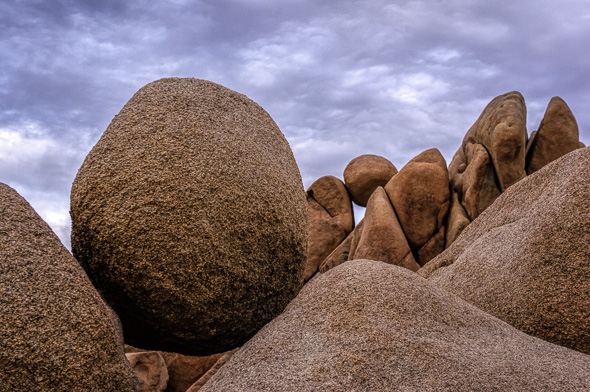 Jumbo Rocks at Joshua Tree National Park by Anne McKinnell