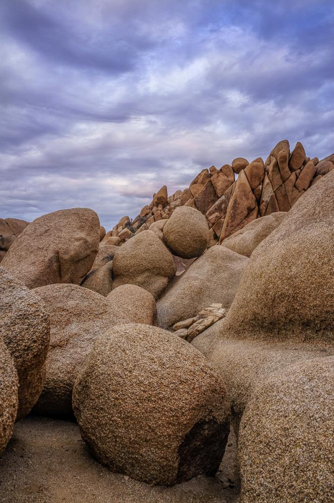 Jumbo Rocks at Joshua Tree National Park by Anne McKinnell