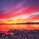 Salton Sea Sunset by Anne McKinnell