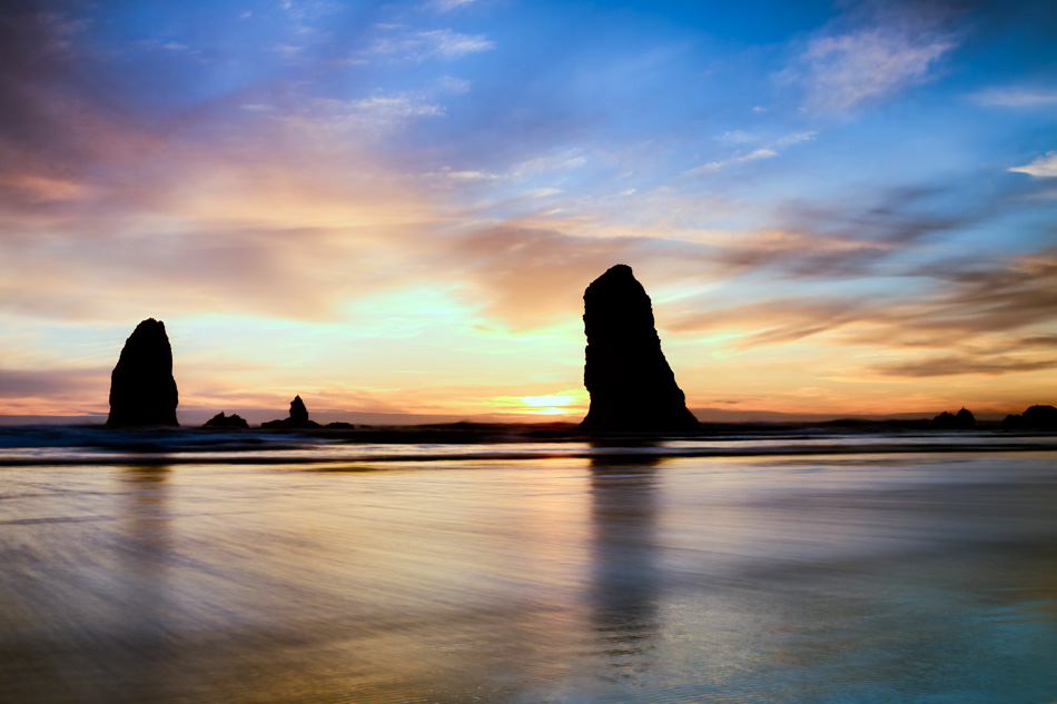 Cannon Beach, Oregon by Anne McKinnell