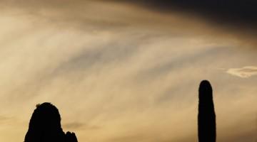 Ajo Arizona Sunset #1 by Anne McKinnell