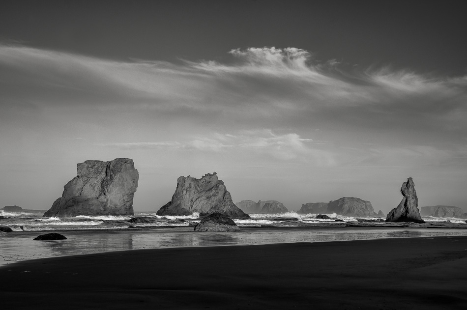 Bandon Beach Seascape