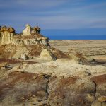 First Day in Bisti Badlands, New Mexico