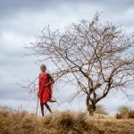Maasai Boy by Anne McKinnell