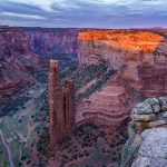 Spider Rock, Canyon de Chelly National Monument Arizona