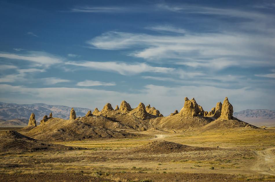 Trona Pinnacles by Anne McKinnell