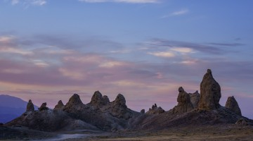 Trona Pinnacles Sunset by Anne McKinnell