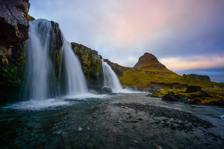 Kirkjufellsfoss by Anne McKinnell