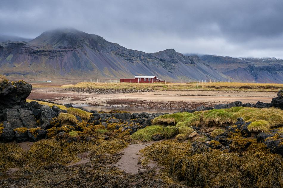 Red Barn in Budir by Anne McKinnell
