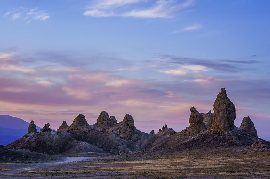 Trona Pinnacles, California.