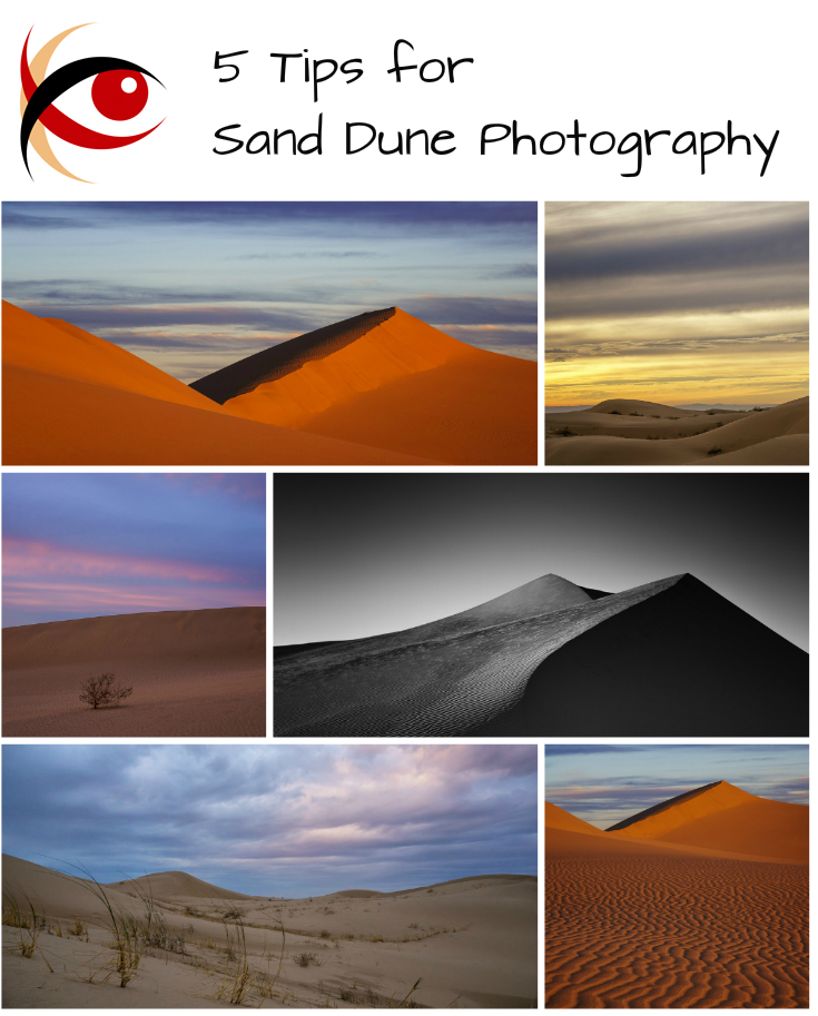 Whether you're going to the dunes in Oregon, California, Colorado, or even somewhere exotic like Namibia, these sand dune photography tips will help ... http://annemckinnell.com #landscapephotography #photography