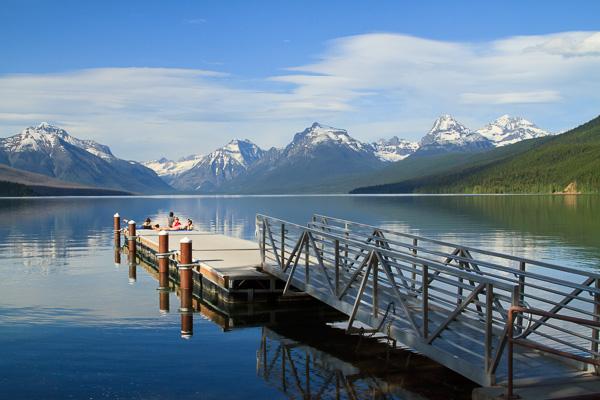 Lake McDonald, Glacier National Park, Montana.