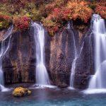 Iceland: Hraunfossar Lava Falls