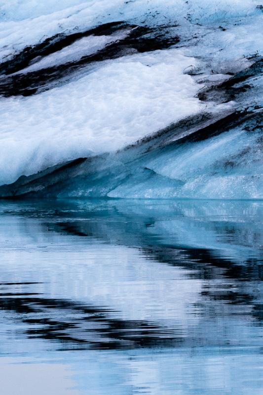 Jokulsarlon Glacial Lagoon, Iceland by Anne McKinnell