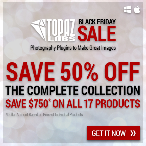 Topaz Labs Complete Collection 50% off