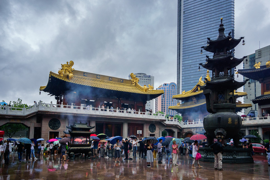 Jing'an Temple, Shanghai, China