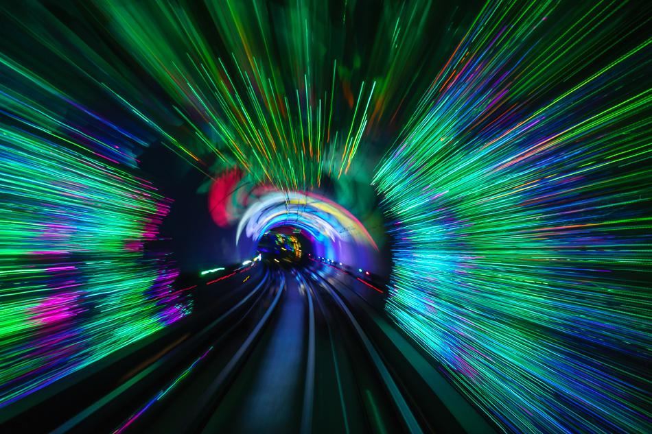 Bund Tunnel, Shanghai, China