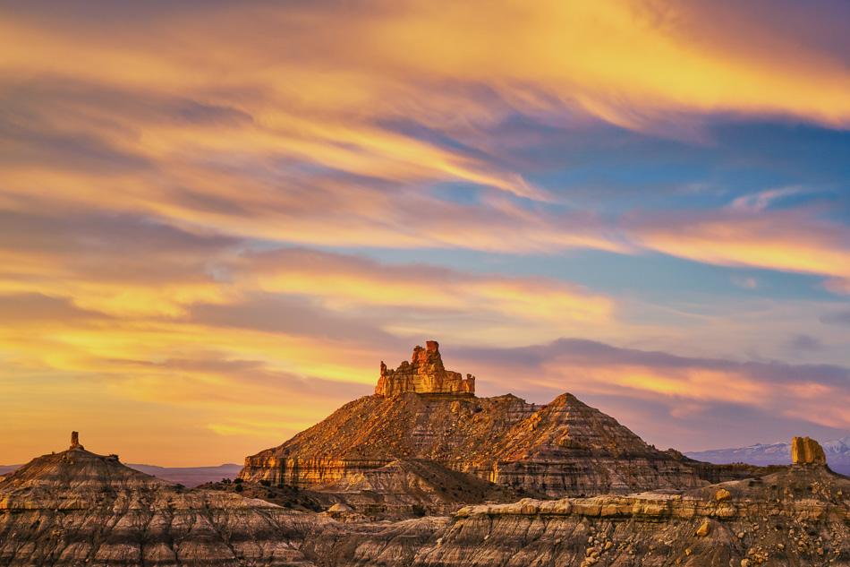 Angel Peak, New Mexico