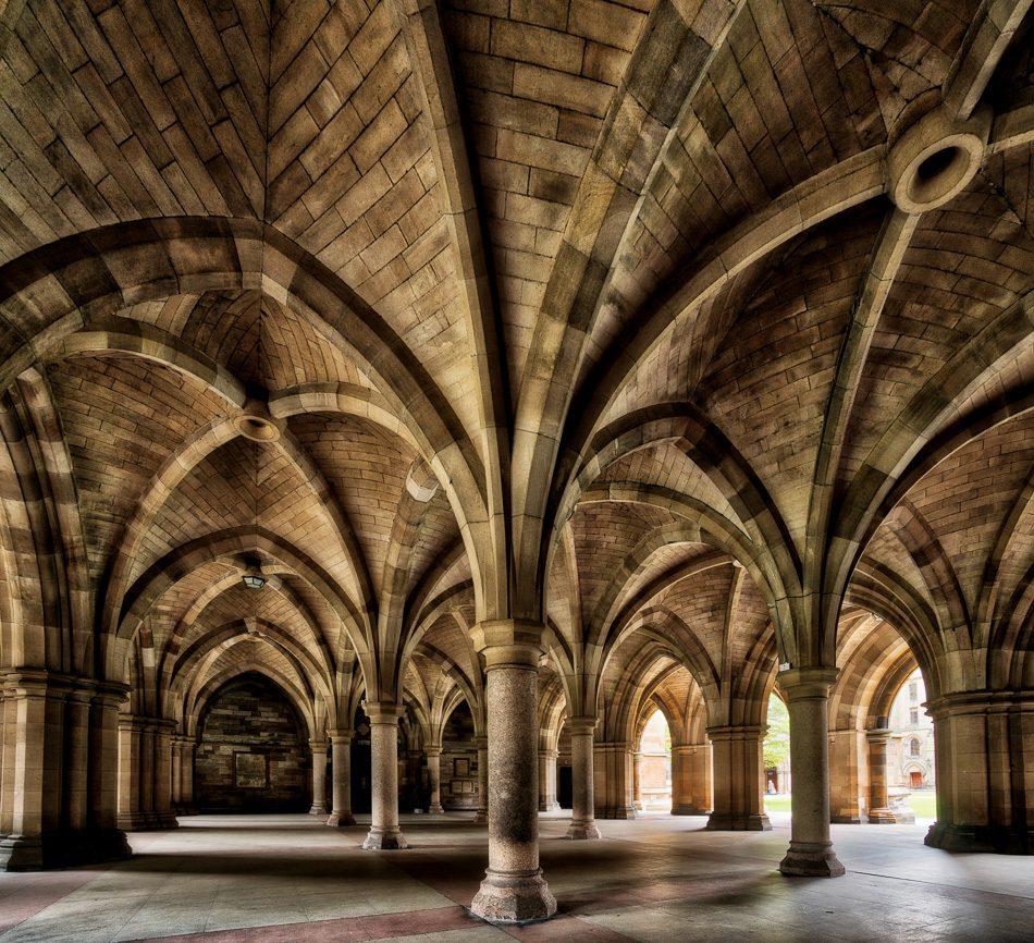 Hunterian Art Gallery in Glasgow, Scotland
