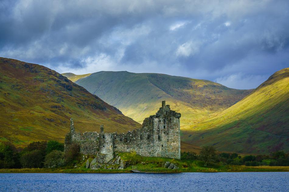 Kilchurn Castle and Loch Awe, Scotland