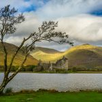 Kilchurn Castle and Loch Awe, Scotland