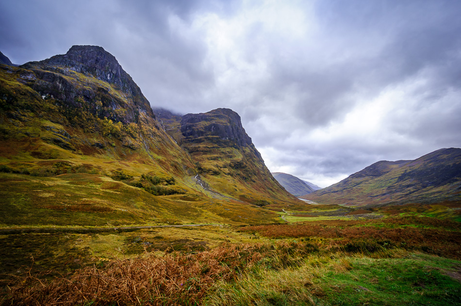 Three Sisters of Glen Coe, Glencoe, Scotland