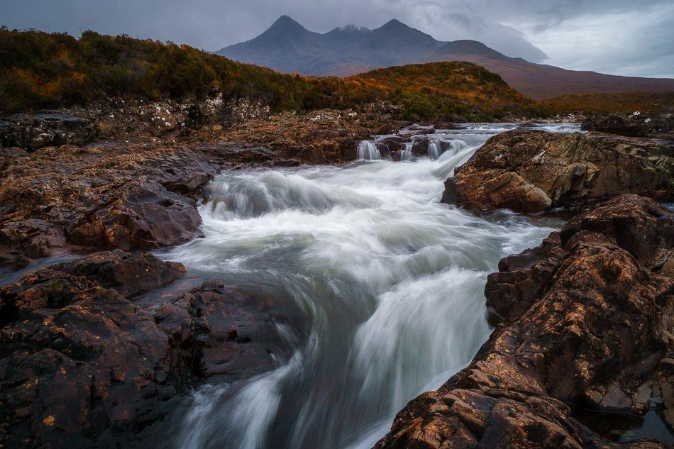 Sligachan River, Isle of Skye, Scotland