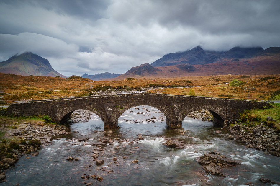 Sligachan Bridge, Isle of Skye, Scotland