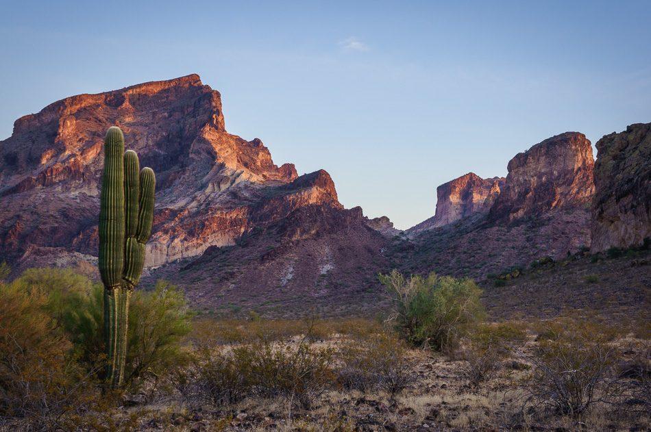 Saddle Mountain, Arizona