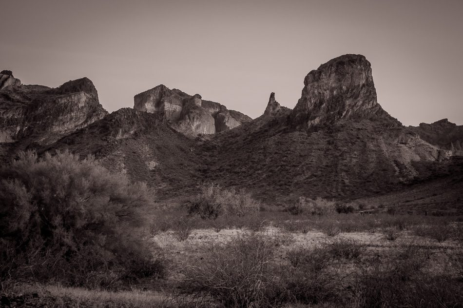 Saddle Mountain, Arizona