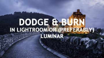 How to Use the Dodge and Burn Technique in Photo Processing