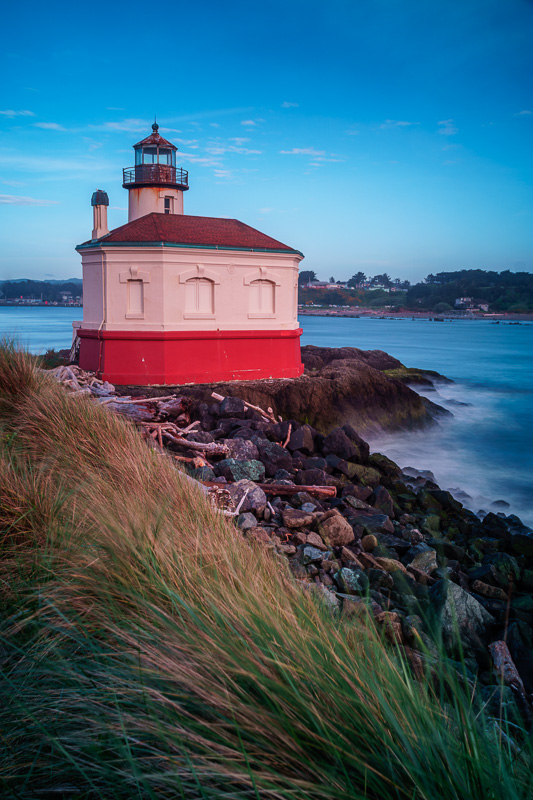 Coquille Lighthouse, Bandon, Oregon