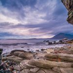 Colourful Stones, Honeycomb Cliff, Friendly Animals and Lost Strangers in Elgol, Isle of Skye, Scotland