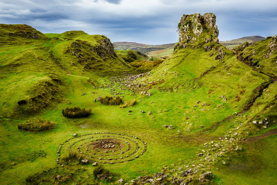 The Fairy Glen, Isle of Skye, Scotland